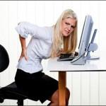 Cách chữa đau lưng cho dân văn phòng